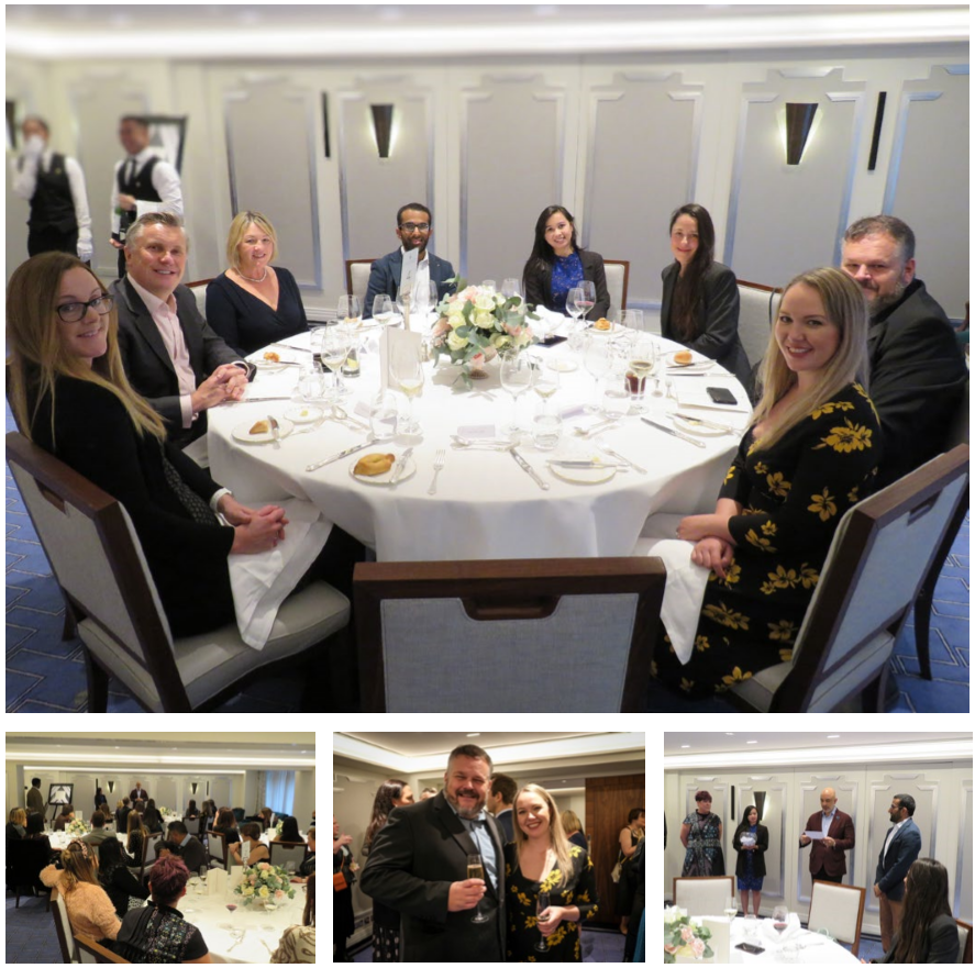 Photos from our event at Claridge's